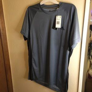 Blue-gray NWT adidas shirt